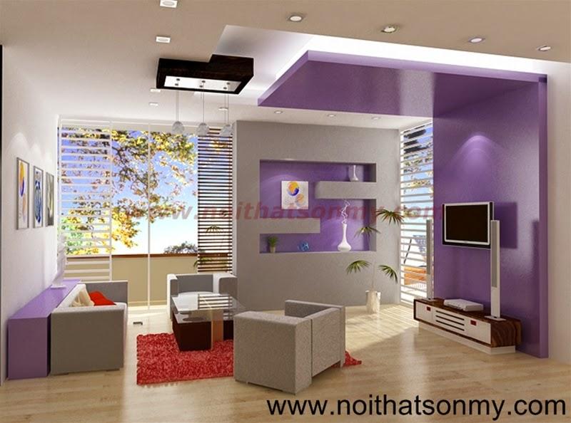 Mẫu thiết kế nội thất phòng khách 312
