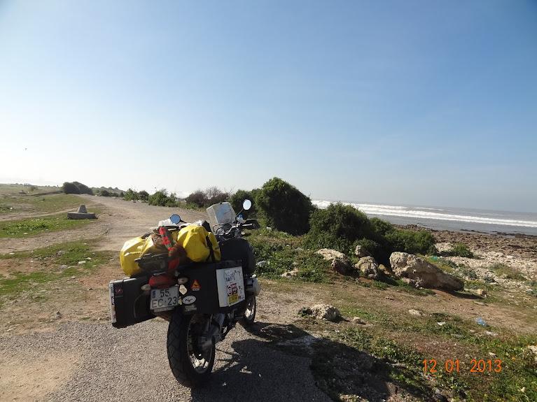 marrocos - Marrocos e Mauritãnia a Queimar Pneu e Gasolina DSC05409