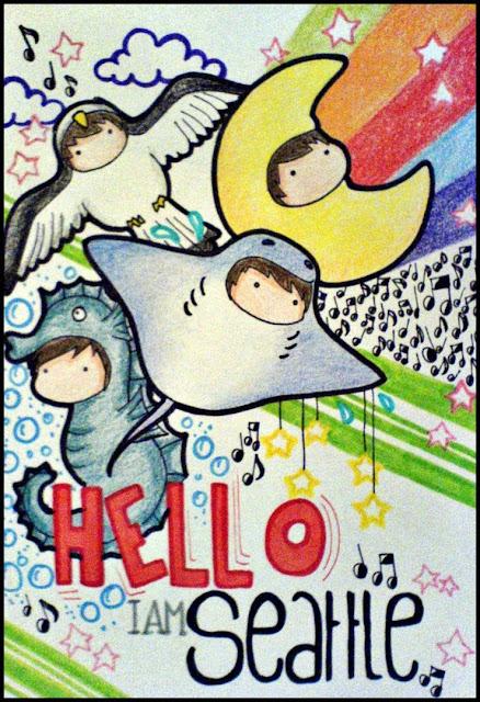 [Animation Pics] Owl City Chibi cực cute! HelloSeatle