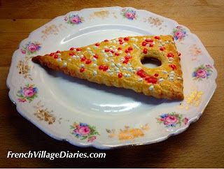French Village Diaries patisserie challenge corneulle des rameaux boulangerie lent Palm Sunday