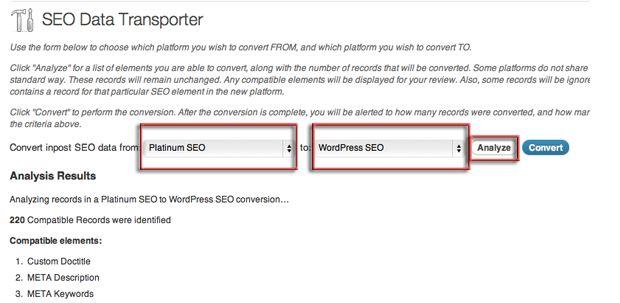 Mengubah WordPress SEO Plugin dari Platinum SEO ke Yoast SEO Plugin