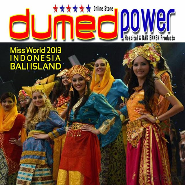 Miss-World-2013-Nusa-Dua-Bali-Indonesia-Dressing-A-Traditional-Clothes-2
