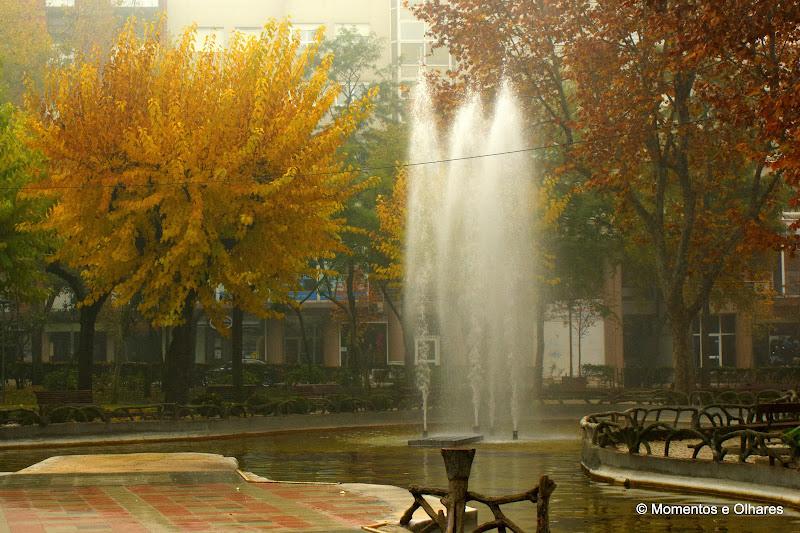 Os dias frios do Outono