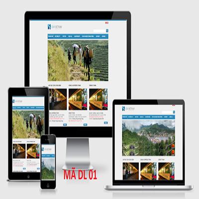 Thiết kế web đặt vé tàu online