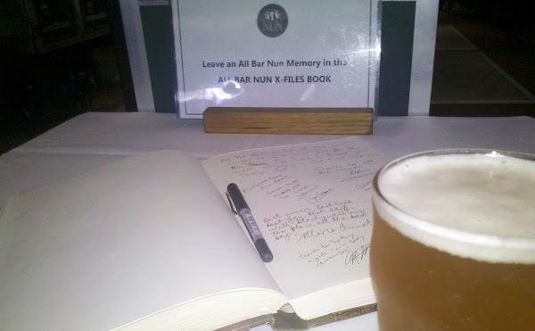 all bar nun condolence book