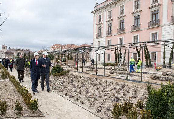 Obras de rehabilitación del Palacio del Infante Dos Luis