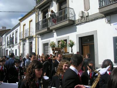 La Banda Municipal de Música de Pozoblanco en S.Isidro 2010. Foto: * Prohibido su uso y reproducción * Foto: Banda Municipal de Música de Pozoblanco. www.bandamunicipaldepozoblanco.blogspot.com