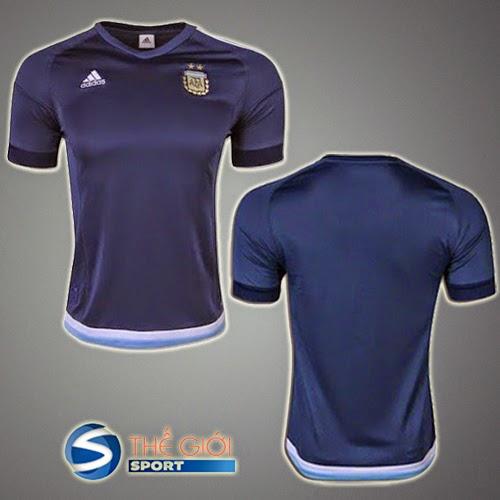 áo bóng đá - ao bong da argentina 2015 - 2016