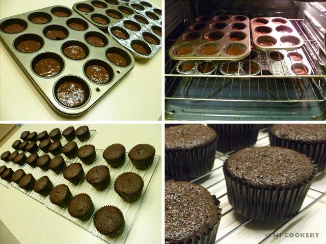 Chocolate Cherry Cola Cupcakes