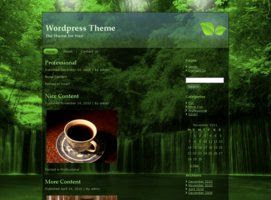 Rain Forest Blog Theme - The Nature Environment