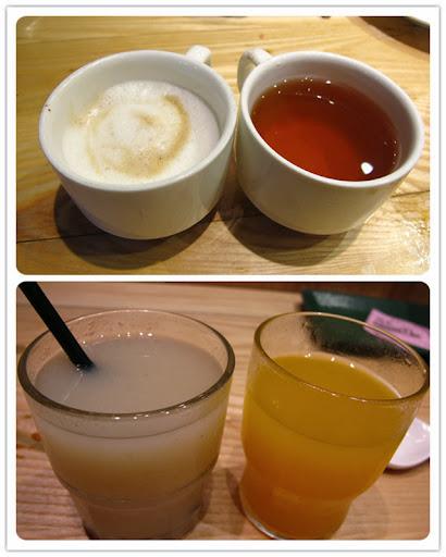果汁及咖啡/茶-上閤屋台中復興店