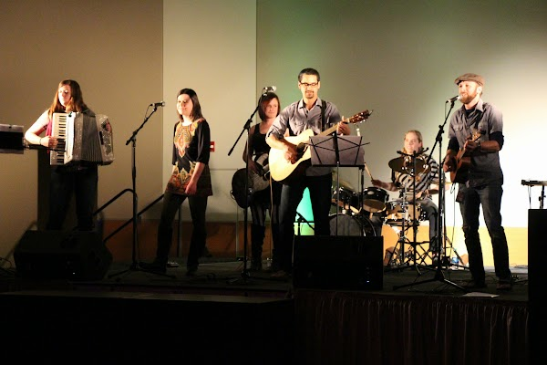 The Border Colleagues at the 2014 WSU Battle of the Bands