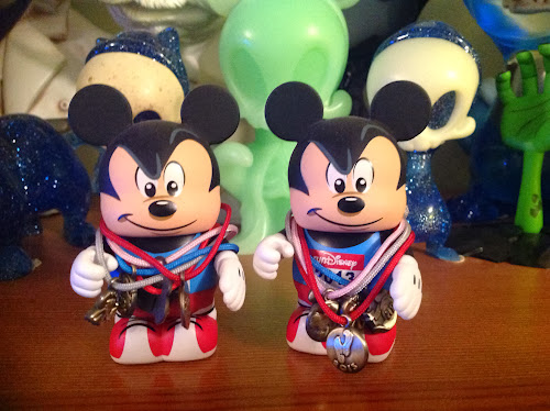 Our 2013 RunDisney Vinylmation figures