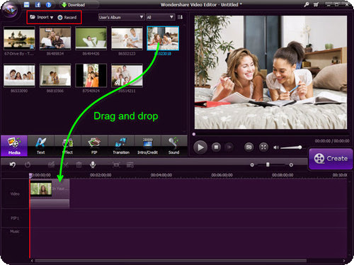 Wondershare Video Editor 3.1.4.0 - Crea videos impresionantes