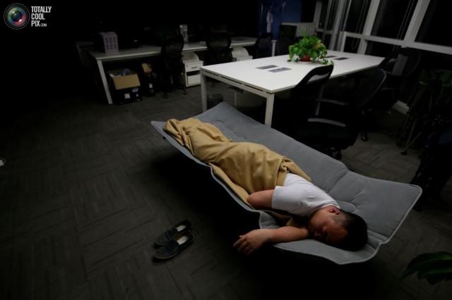 Ngủ tại công ty