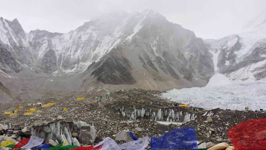 Everest Base Camp (5360m)
