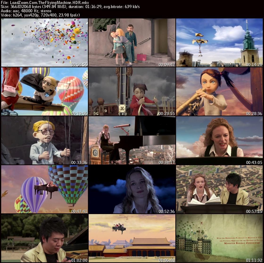 movie screenshot of The Flying Machine fdmovie.com