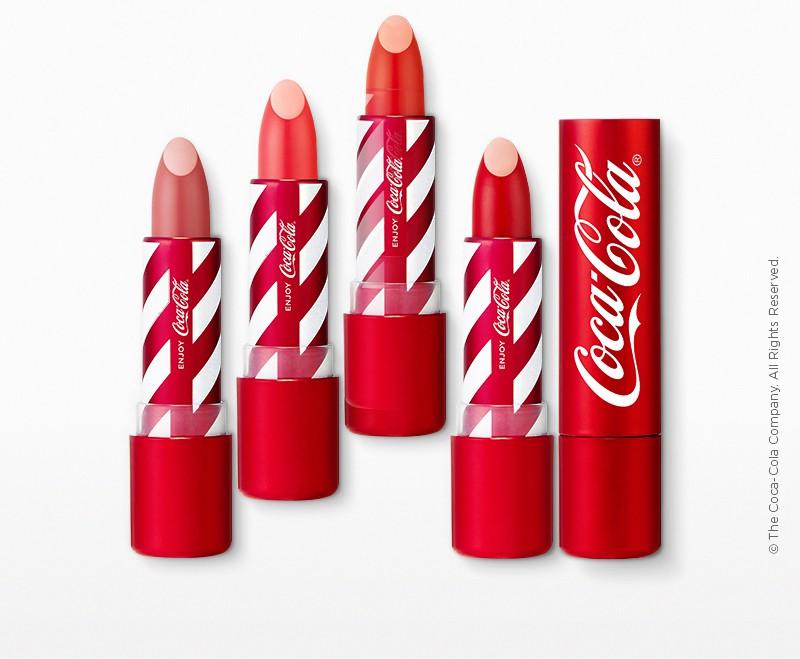 The Face Shop x Coca Cola Velvet Lipstick