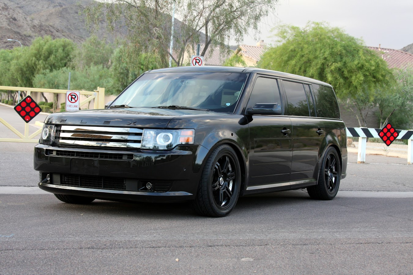Pictures Of My Flex After Megan Coilovers Installed Ford Flex Forum