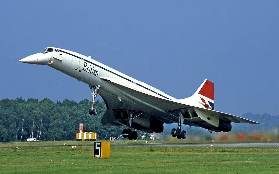 Concorde Supersonic Aircraft Wallpaper 2
