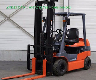 Toyota Battery Forklift 7FB 8FBN