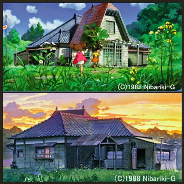 Satsuki and Mei's House película
