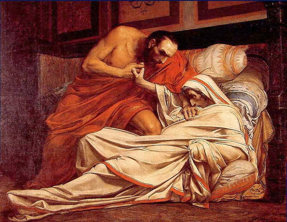 Jean-Paul Laurens - The Death of Tiberius