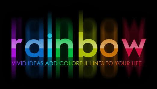 Membuat teks warna-warni dengan photoshop