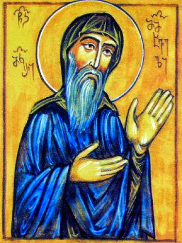 Venerable Macarius The Faster Abbot Of The Khakhuli Monastery