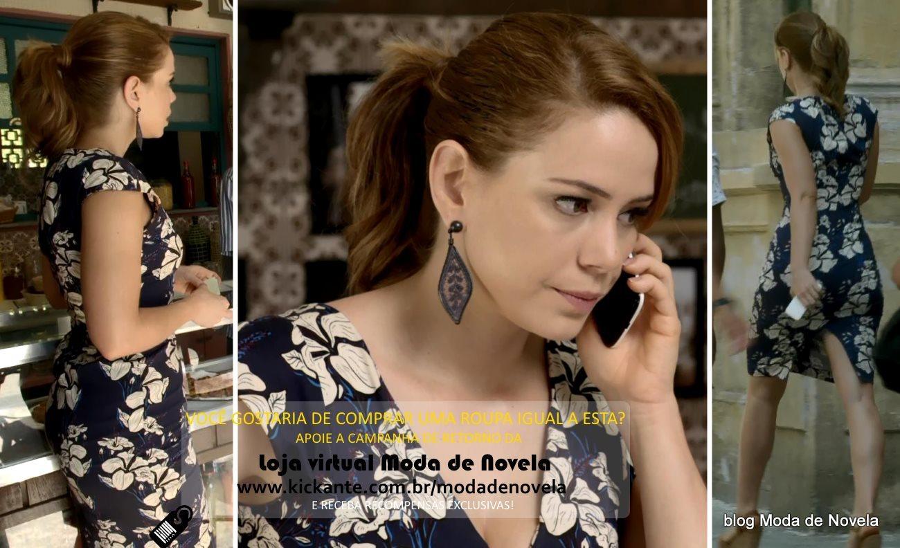 Moda da novela Império, look da Cristina dia 20 de janeiro de 2015