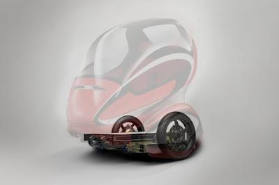 Сетевой электромобиль GM EN-V