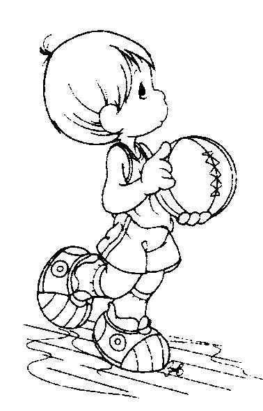 Pinto Dibujos: Basquetbolista de los precious moments para ...