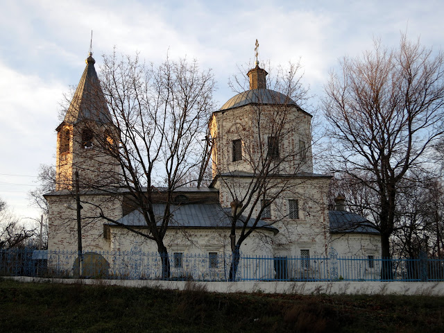 Преображенская церковь Нижнее Аблязово