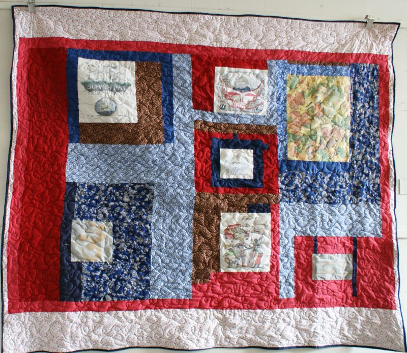 Mamaka Mills Recycled And Custom Memory Quilts: Grateful