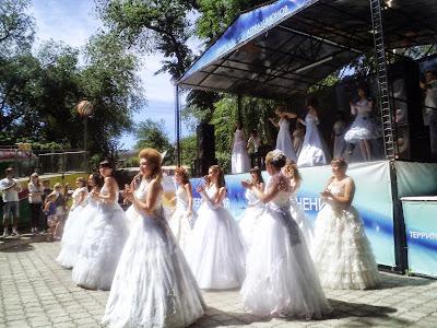 Воронеж - парад невест