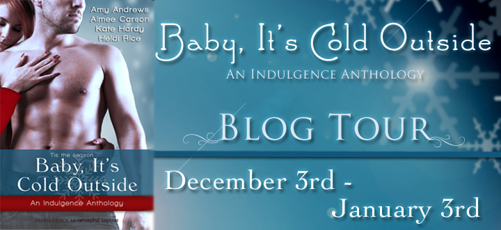 Tour: Interview & Giveaway — BABY, IT'S COLD OUTSIDE anthology