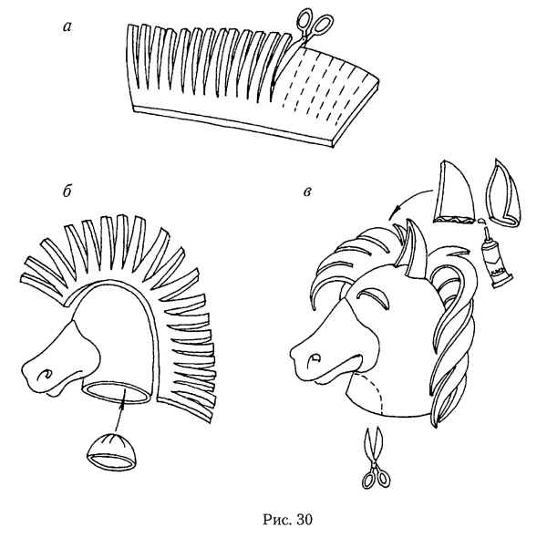 Как сделать маску лошади фото 463
