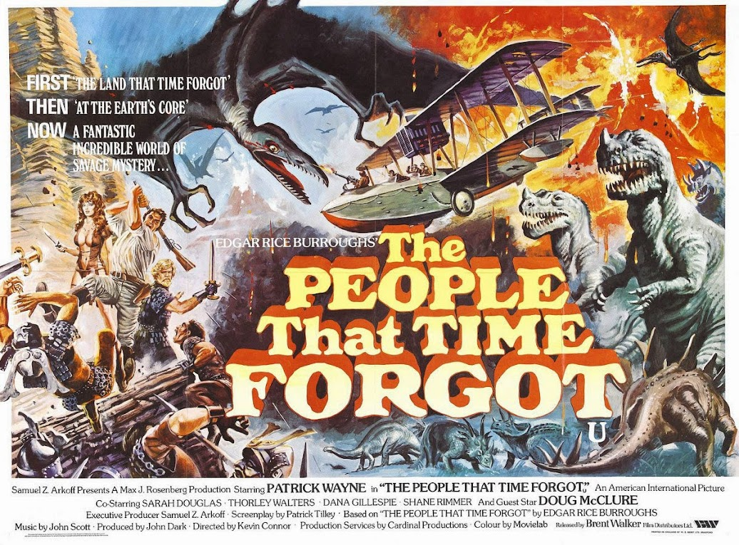 The People That Time Forgot movie poster
