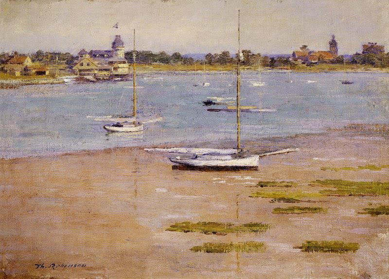 Theodore Robinson - Low Tide