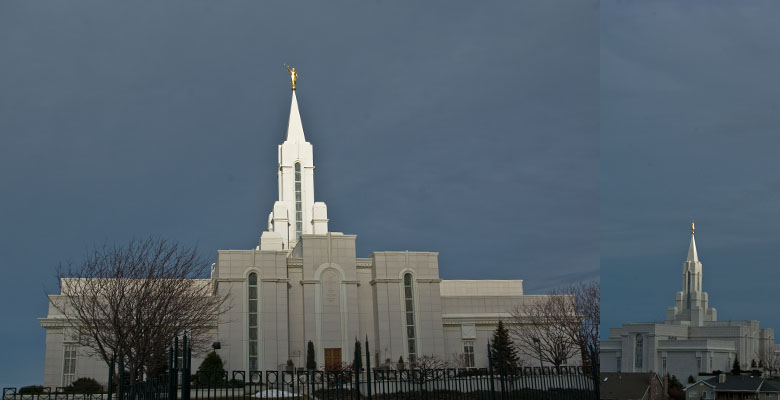 Bountiful Utah Temple, March 16, 2009