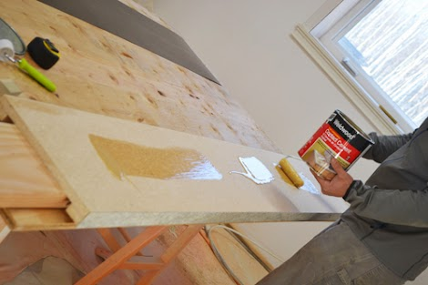 diy ing a laminate countertop ana white woodworking projects. Black Bedroom Furniture Sets. Home Design Ideas