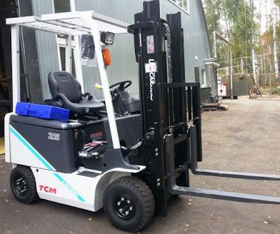 Xe nâng điện TCM 1 - 5 tấn