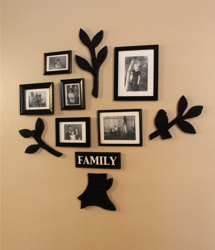 Family Tree Photo Wall family tree wall art