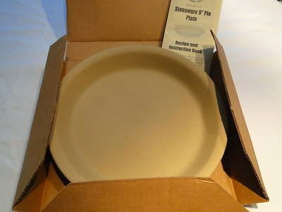 Cheap The P&ered Chef Stoneware 9\  Pie Plate Item #1425 & Special Offer The Pampered Chef Stoneware 9\