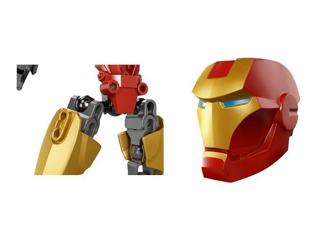 レゴ スーパー・ヒーローズ アイアンマン 4529
