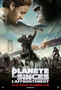 Jaquette de La Planètes des Singes : L'Affrontement
