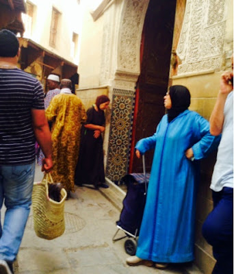 The souk of Fes in Morocco