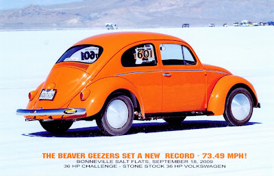 Land Speed Record 1958 VW Bug by Almost Everything