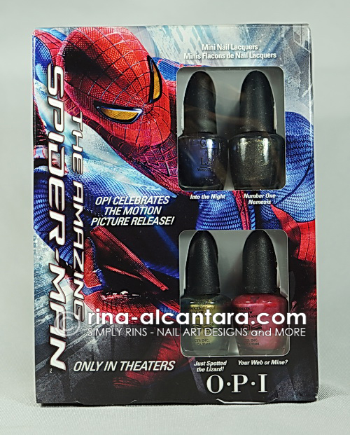 OPI Spiderman Minis Collection