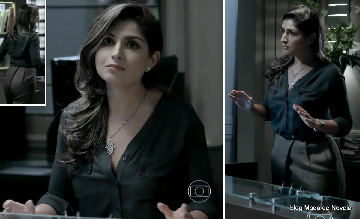moda da novela Império - look da Marisa dia 4 de setembro